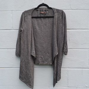 The Limited Charcoal Cardigan